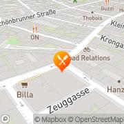 Karte MOLI WOK Restaurant Wien, Österreich
