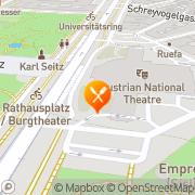 Map Vestibül - Restaurant im Burgtheater Vienna, Austria