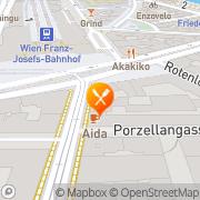 Karte Billini Wien, Österreich