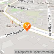 Karte S-Bar Wien, Österreich