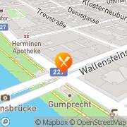 Karte Adar Cigköfte Salonu Wien, Österreich