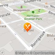 Karte Colombo Wien, Österreich