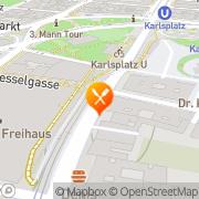 Karte Korfu Wien, Österreich