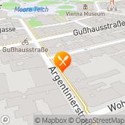 Karte China-Restaurant OSTMEER Wien, Österreich