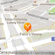 Karte Bierreither Gastwirtschaft Wien, Österreich