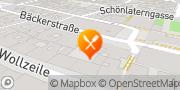 Karte INIGO Restaurant Wien, Österreich