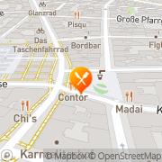 Karte Contor Wien, Österreich