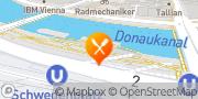 Karte Badeschiff Wien Wien, Österreich