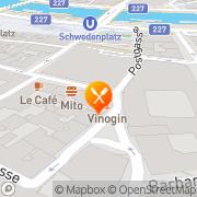 Karte Café-Restaurant Tra-Ra Wien, Österreich