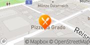 Karte Pizzeria Grado Wien, Österreich