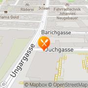 Karte Gasthaus Hochmeister Wien, Österreich