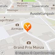 Karte Zum Eisernen Mann Wien, Österreich