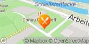 Karte Donau City Treff Wien, Österreich