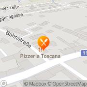 Karte Restaurant Toscana - Hochzeitsräumlichkeiten Maria Lanzendorf, Österreich