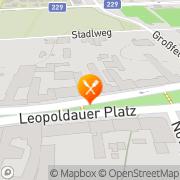 Karte Zeiner Cafe-Restaurant Wien, Österreich