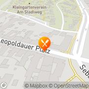 Karte Leopoldauer Stadl Wien, Österreich