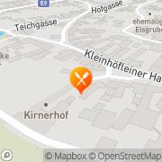 Karte Kirnerhof Eisenstadt, Österreich