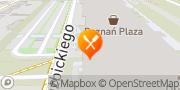 Mapa Pizza Hut Express Poznań Pestka Poznań, Polska