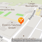 Karte Badrestaurant Gols, Österreich