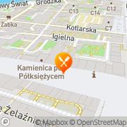 Mapa Pizza Hut Wrocław Rynek Wrocław, Polska