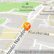Mapa Verona Wrocław, Polska