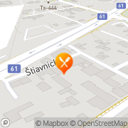 Map Ristorante Italiano Bratislava, Slovakia