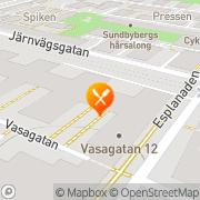 Karta Bällstabro Värdshus Sundbyberg, Sverige