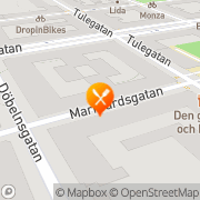 Karta Matberedarna Asarnoj & Mårtensson A Stockholm, Sverige