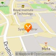Karta A-läge Syster o Bror Festvåning Stockholm, Sverige
