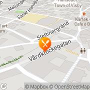 Karta Tidsfördriv Visby, Sverige