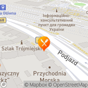 Mapa Piwiarnia Gdynia, Polska