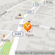 Map Reštaurácia PIVNICA PRI STUDNI Detva, Slovakia