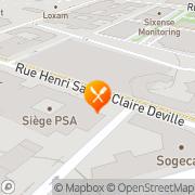 Carte de NOVERGIE ILE DE FRANCE Rueil-Malmaison, France