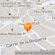Map Taller De Tapas Barcelona, Spain