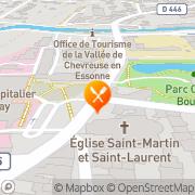 Carte de S.G.S. Qualitest Industrie S.A.S. Orsay, France