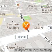 Carte de S.B.E.C. Europe Gestion S.A. Boulogne-Billancourt, France