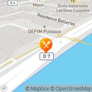 Carte de BOLLORE Puteaux, France