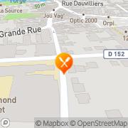 Carte de S.F.D.D. S.A.R.L.- Sebo France Diprest Distribution Arpajon, France