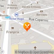 Carte de AGIA Paris, France