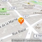 Carte de Seveau S.A. Asnières-sur-Seine, France