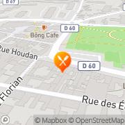 Carte de BOULANGERIE MAILLARD Sceaux, France
