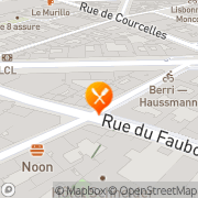 Carte de GEFFROY SAINT HONORE Paris, France