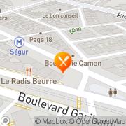 Carte de LE MOULIN DE LA VIERGE Paris, France