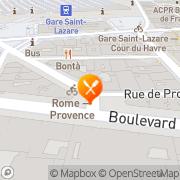 Carte de PPC SA Paris, France