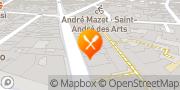 Carte de Le Procope Paris, France