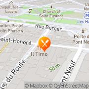 Carte de SA JULIEN Paris, France