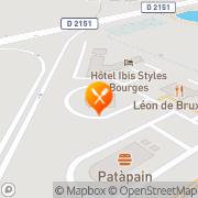 Carte de Grill Courtepaille Bourges, France