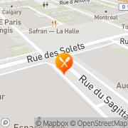 Carte de Routage et Messageries de France S.A. Rungis, France