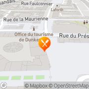 Carte de PATISSERIE JEAN BART Coudekerque-Branche, France