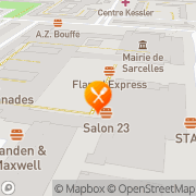Carte de RP Déco S.A.R.L. Sarcelles, France